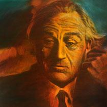 Robert de Niro - 140 cm x 100 cm , Acryl , Tusche