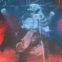 Jim Morrison - 150 cm x100 cm , Acryl