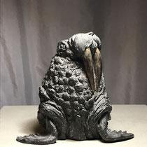 Walroß, Bronze, 18 x 25