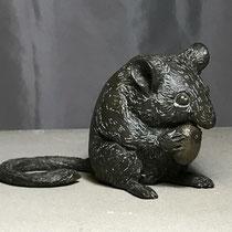 Haselmaus, Bronze 8 x 13