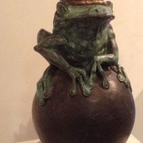 Froschkönig  - Bronze 18x33cm