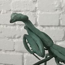 Mantis, Bronze, 23 x 25 cm