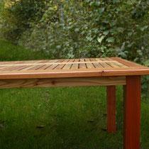 Tables de jardin Mélèze L.2500XP.1000XH.750