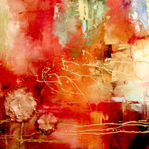 Sunset, mixed media on canvas, 100 x 80 cm, 2010 - SOLD