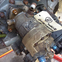 Pompe hydraulique servos commandes
