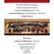Konzert Breslau, Polen, 2011