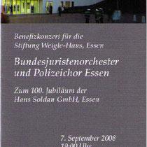 Konzert Essen, 2008