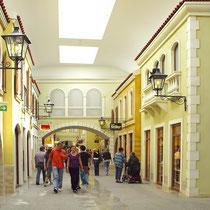 Mediterraneo-Einkaufsmeile