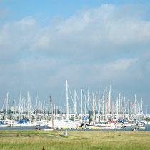Der Hafen für die Segler