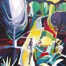 """""""Pintor en el bosque"""" 139x114cm. 2006"""