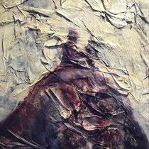 Solos en la montaña. 35x20cm. 2006