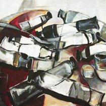 """""""Paleta de pintor"""". 146x114cm. 2006"""