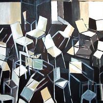 """Aula de Historia del Arte Contemporáneo"", 146x114cm. 2007"