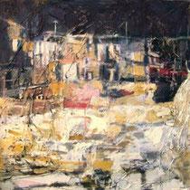 """""""Estudio abandonado"""", 100x100cm. 2005"""