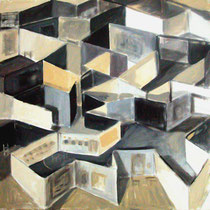 """Desmontando Arco"". 60x60cm. 2008"