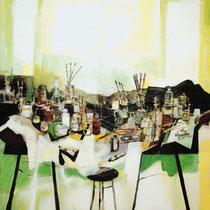 """Estudio en Primavera"", 228x146cm. 2006"