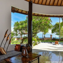Tropical beachfront villa for sale in North Bali