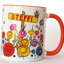 personalisierte-Tassen-Tasse-mit-Namen-Steffi-Namenstasse