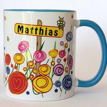 Tasse-mit-Namen-Matthias-blau-personalisierte-Tassen