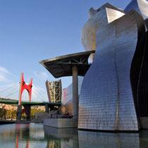 Musée Goggenheim à Bilbao
