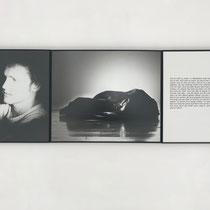 © Jochen Gerz, PIONIERE, 1982/87,  triptych, b/w photography, text