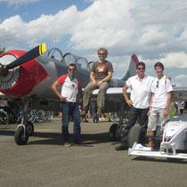 Freddy Killensberger auf dem Flugtag in Gundelfingen