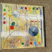 génération. vue de côté1 - daluz galego peinture tableau abstrait abstraction