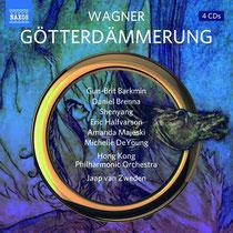 R. Wagner: Die Göterdämmerung, Hongkong Philharmonic Orchestra, Jaap van Zweden, NAXOS (2018)