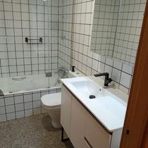 reforma de cuarto de baño con bañera