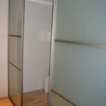 раздвижная перегородка в комнату
