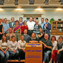 "Theatertage 2018 - ""Oil of Olaf"" Gruppenbild"