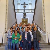 Theaterfreunde 2019-05-24 zu Besuch im bayerischen Landtag