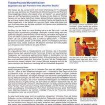 TF 2015 - Wer glaubt schon an Geister! - Theaterspiegel Bericht