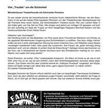 TF 2012 - Die Schönheitsfarm - Theaterspiegel Bericht 1