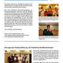 TF 2012 - Die Schönheitsfarm - Theaterspiegel Bericht 2