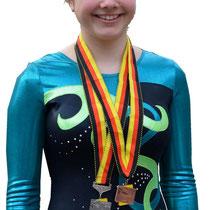 Laura ... für den Basler Meistertitel  im OPEN 2012
