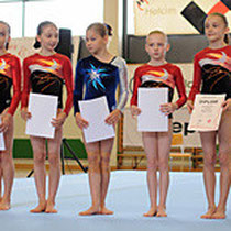 SJM 2012 - P3 Fabienne (1.v.l.)  Einzelwertung 8. Rang (Diplom)     Foto: U.Waldner