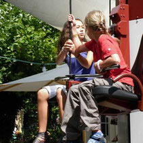 Ausflug Europapark 2011 - Krafttraining mal anders... Tamara Noemie