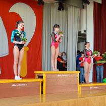 Podest OPEN Limmat-Cup 2013 - Leandra 2. Platz
