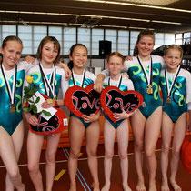 Team P2 mit Laura (zweite von rechts)