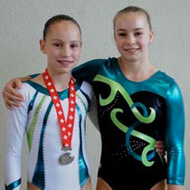 SJM 2012 - BTV-Finalistinnen Ronja und Nicole    Foto: U.Waldner