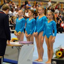 Team NKL 1 v.r.n.l Fabienne Nicole SMM 2012