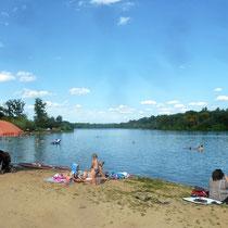 Opfinger See nahe Ferienwohnung