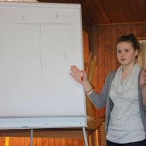 """Erst die Theorie - Darja Damer erklärt die Schrittfolgen beim """"T"""""""