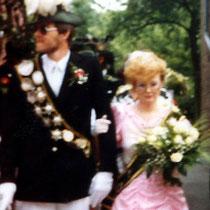 1986: Wilhelm Werry und Petra Sarg