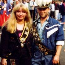 1988: Ingo Thelen und Gabi Niggemann