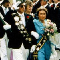 1984: Manfred Klauke und Annelie Steinhoff