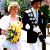 1983: Günter Vögel und Angelika Schulp