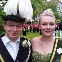 2013: Adrian Niersch und Annika Kroner