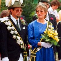 1987: Heinz Dämmer und Birgit Hohenberger-Werkmeister